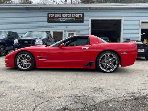 2002 Chevrolet Corvette for sale at Top Line Motorsports in Derry NH