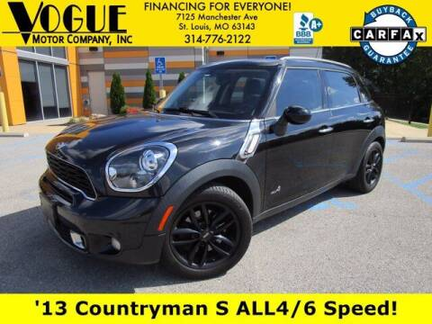 2013 MINI Countryman for sale at Vogue Motor Company Inc in Saint Louis MO