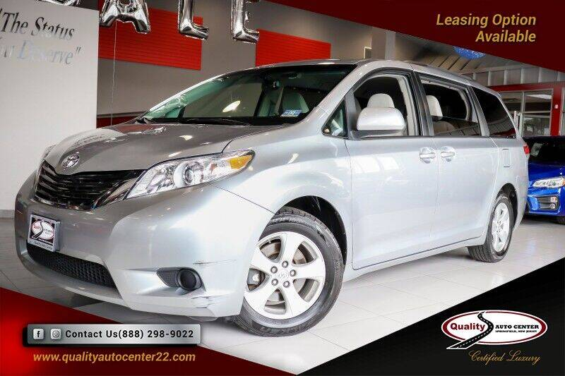 2011 Toyota Sienna for sale at Quality Auto Center of Springfield in Springfield NJ
