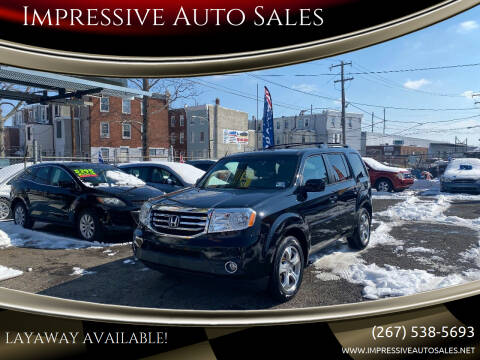 2012 Honda Pilot for sale at Impressive Auto Sales in Philadelphia PA