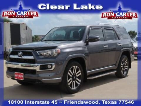 2018 Toyota 4Runner for sale at Ron Carter  Clear Lake Used Cars in Houston TX