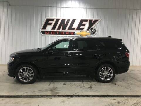 2020 Dodge Durango for sale at Finley Motors in Finley ND