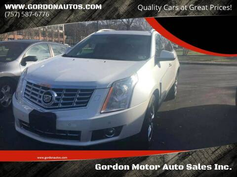 2013 Cadillac SRX for sale at Gordon Motor Auto Sales Inc. in Norfolk VA