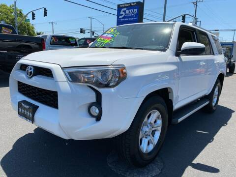 2015 Toyota 4Runner for sale at 5 Star Auto Sales in Modesto CA