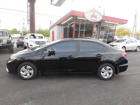 2015 Honda Civic for sale at The Carriage Company in Lancaster OH
