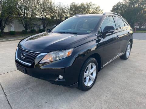2010 Lexus RX 350 for sale at Triple A's Motors in Greensboro NC