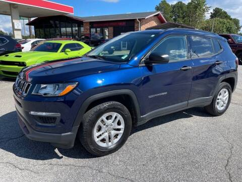 2018 Jeep Compass for sale at Modern Automotive in Boiling Springs SC