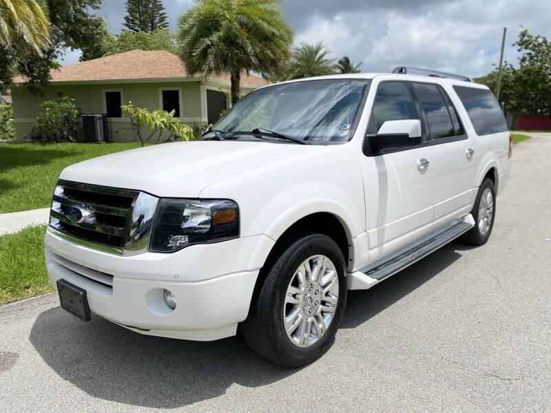 2014 Ford Expedition EL for sale at CAR UZD in Miami FL