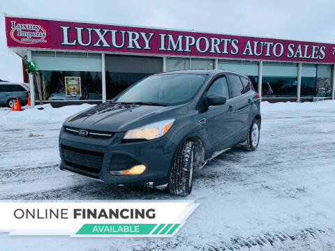 2016 Ford Escape for sale at LUXURY IMPORTS AUTO SALES INC in North Branch MN