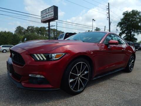 2016 Ford Mustang for sale at Medford Motors Inc. in Magnolia TX