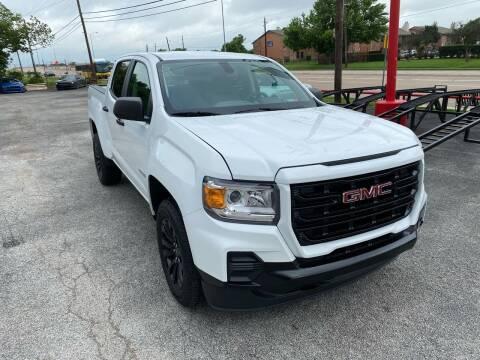 2021 GMC Canyon for sale at LLANOS AUTO SALES LLC - JEFFERSON in Dallas TX