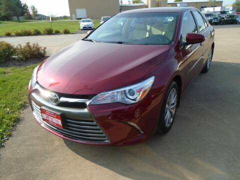 2017 Toyota Camry for sale at BOBS AUTOMOTIVE INC in Fairfield IA