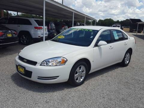 2008 Chevrolet Impala for sale at Bostick's Auto & Truck Sales in Brownwood TX