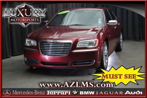 2013 Chrysler 300 for sale at Luxury Motorsports in Phoenix AZ