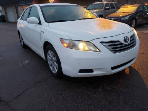 2008 Toyota Camry Hybrid for sale at Gordon Auto Sales LLC in Sioux City IA