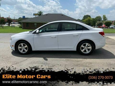 2011 Chevrolet Cruze for sale at Elite Motor Cars in Burlington NC