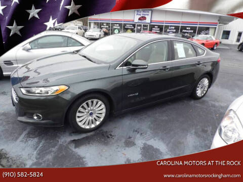 2016 Ford Fusion Hybrid for sale at Carolina Motors at the Rock in Rockingham NC