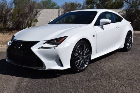 2015 Lexus RC 350 for sale at AMERICAN LEASING & SALES in Tempe AZ