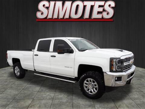 2017 Chevrolet Silverado 3500HD for sale at SIMOTES MOTORS in Minooka IL