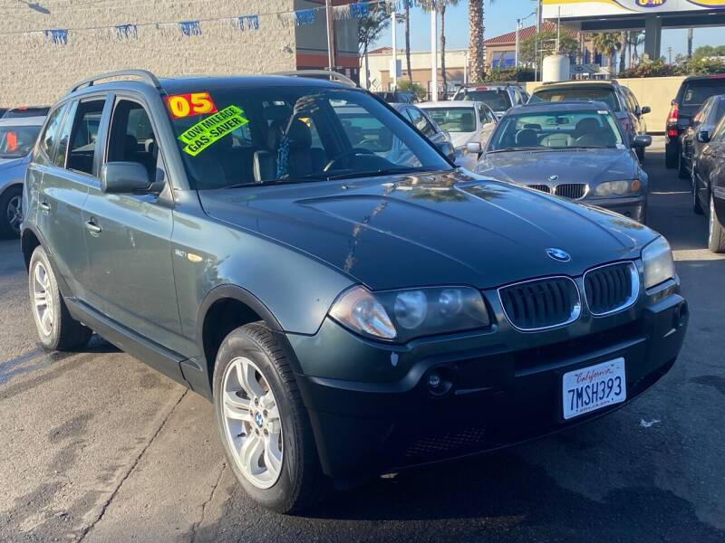 2005 BMW X3 for sale at North County Auto in Oceanside CA