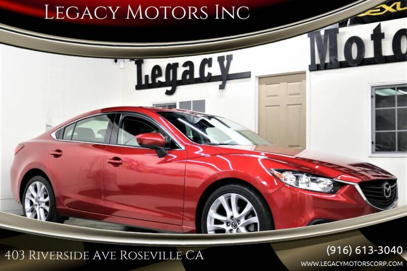 2016 Mazda MAZDA6 for sale at Legacy Motors Inc in Roseville CA