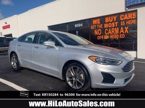 2019 Ford Fusion for sale at BuyFromAndy.com at Hi Lo Auto Sales in Frederick MD