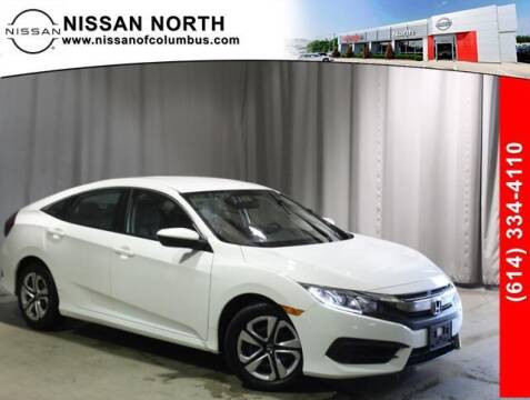 2017 Honda Civic for sale at Auto Center of Columbus in Columbus OH