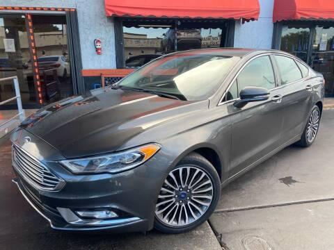 2017 Ford Fusion for sale at MATRIX AUTO SALES INC in Miami FL
