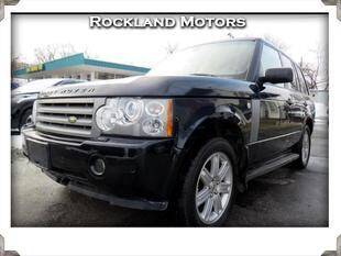 2008 Land Rover Range Rover for sale at Rockland Automall - Rockland Motors in West Nyack NY