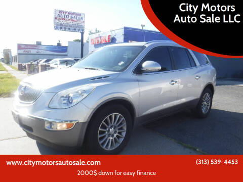 2012 Buick Enclave for sale at City Motors Auto Sale LLC in Redford MI