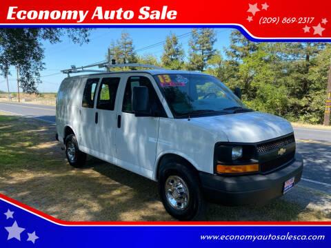2013 Chevrolet Express Cargo for sale at Economy Auto Sale in Modesto CA
