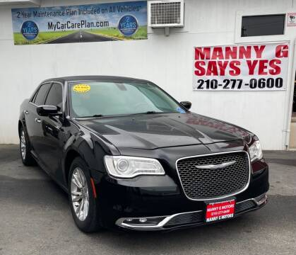 2016 Chrysler 300 for sale at Manny G Motors in San Antonio TX