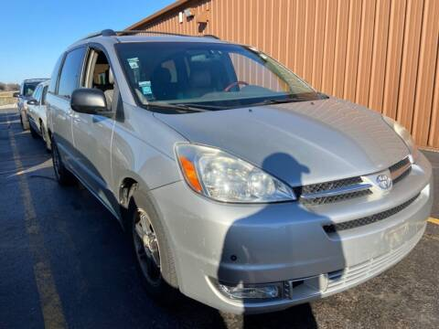 2004 Toyota Sienna for sale at Best Auto & tires inc in Milwaukee WI