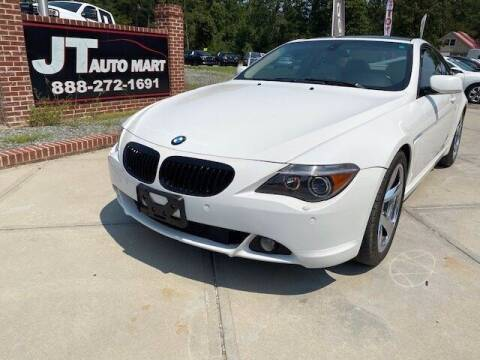 2007 BMW 6 Series for sale at J T Auto Group in Sanford NC