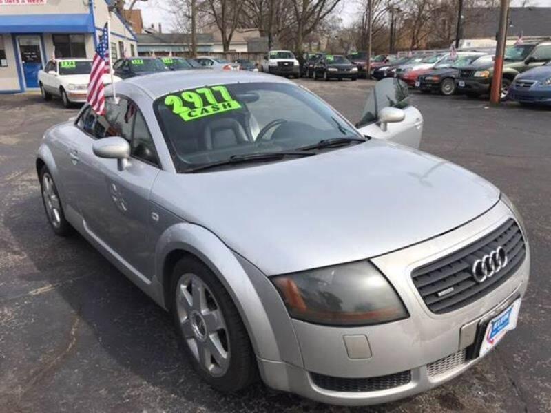2001 Audi TT for sale at Klein on Vine in Cincinnati OH