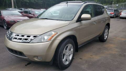 2005 Nissan Murano for sale at GA Auto IMPORTS  LLC in Buford GA