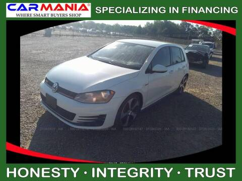 2015 Volkswagen Golf GTI for sale at CARMANIA LLC in Chesapeake VA