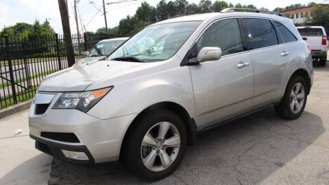 2011 Acura MDX for sale at NORCROSS MOTORSPORTS in Norcross GA