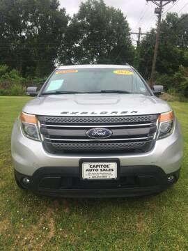 2015 Ford Explorer for sale at CAPITOL AUTO SALES LLC in Baton Rouge LA