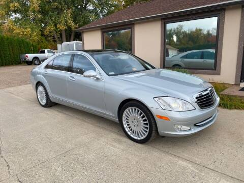2007 Mercedes-Benz S-Class for sale at VITALIYS AUTO SALES in Chicopee MA