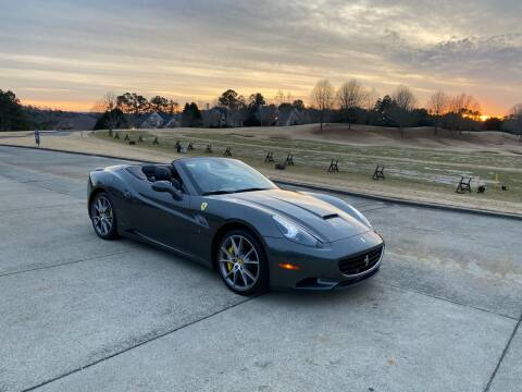 2013 Ferrari California for sale at Legacy Motor Sales in Norcross GA