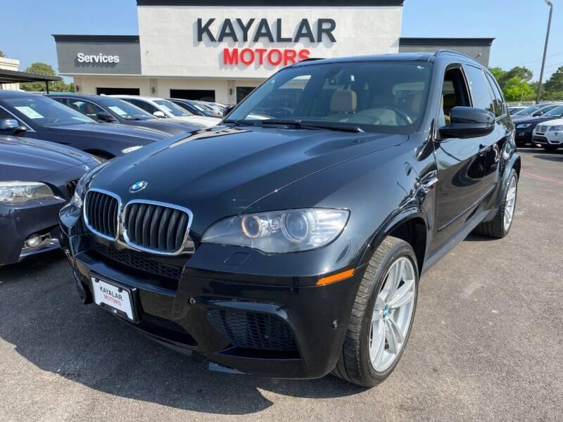2012 BMW X5 M for sale at KAYALAR MOTORS in Houston TX