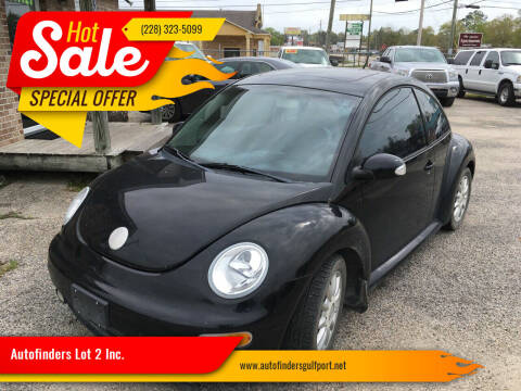 2005 Volkswagen New Beetle for sale at Autofinders in Gulfport MS