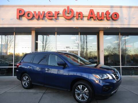 2020 Nissan Pathfinder for sale at Power On Auto LLC in Monroe NC