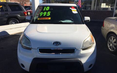 2010 Kia Soul for sale at Deckers Auto Sales Inc in Fayetteville NC