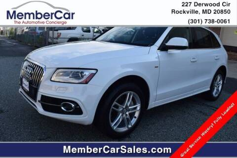 2014 Audi Q5 for sale at MemberCar in Rockville MD
