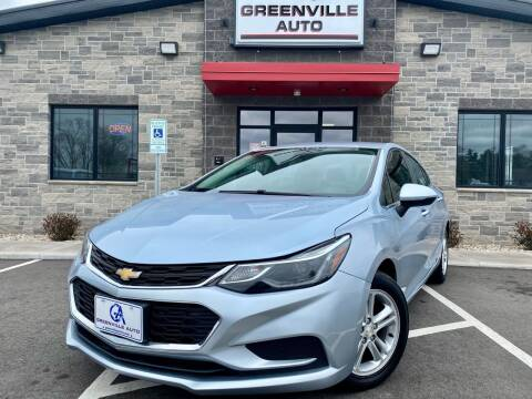 2017 Chevrolet Cruze for sale at GREENVILLE AUTO in Greenville WI