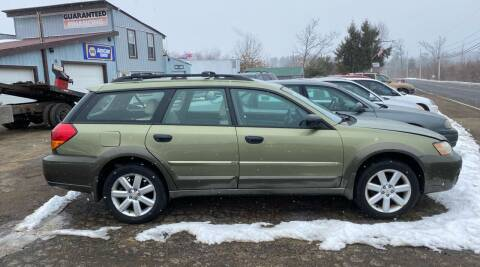 2006 Subaru Outback for sale at Classic Heaven Used Cars & Service in Brimfield MA