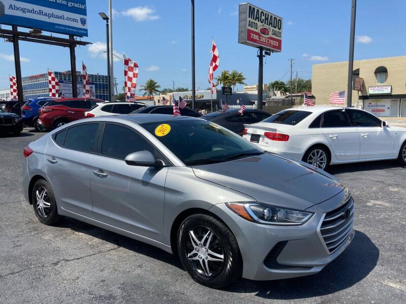 2017 Hyundai Elantra for sale at MACHADO AUTO SALES in Miami FL