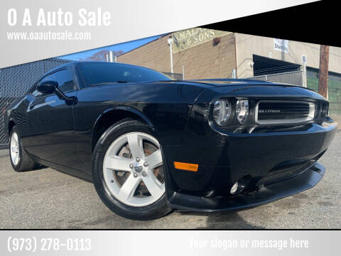 2013 Dodge Challenger for sale at O A Auto Sale in Paterson NJ